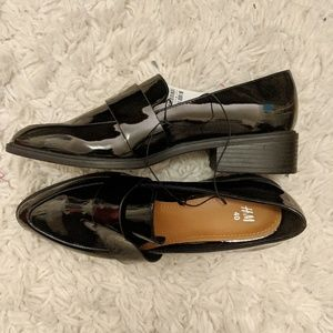 NWT H&M Patent Leather Loafer